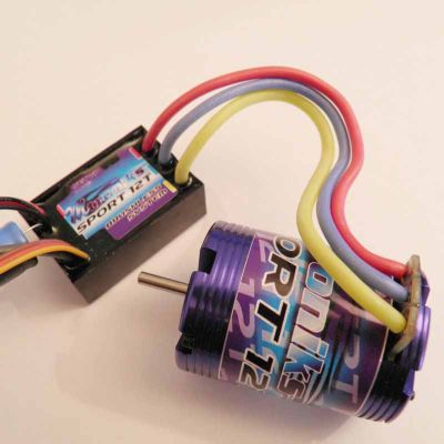 26068 Mtroniks Brushless Speed Control And Motor Combo For