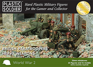 61017 Plastic Soldier Company Paratrooper Heavy Weapons 1944-45 WW2015016