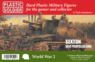 62042 WW2V20029 Sexton Self Propelled Gun 1/72nd Scale
