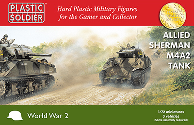62047 WW2V20034 1/72nd Sherman M4A2