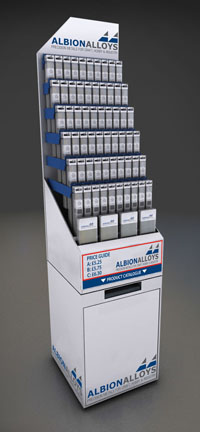 12 Inch Metric Albion Alloys Stand