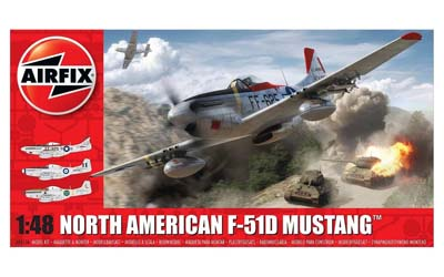 A05136 Airfix North American F-51D  1:48 Scale